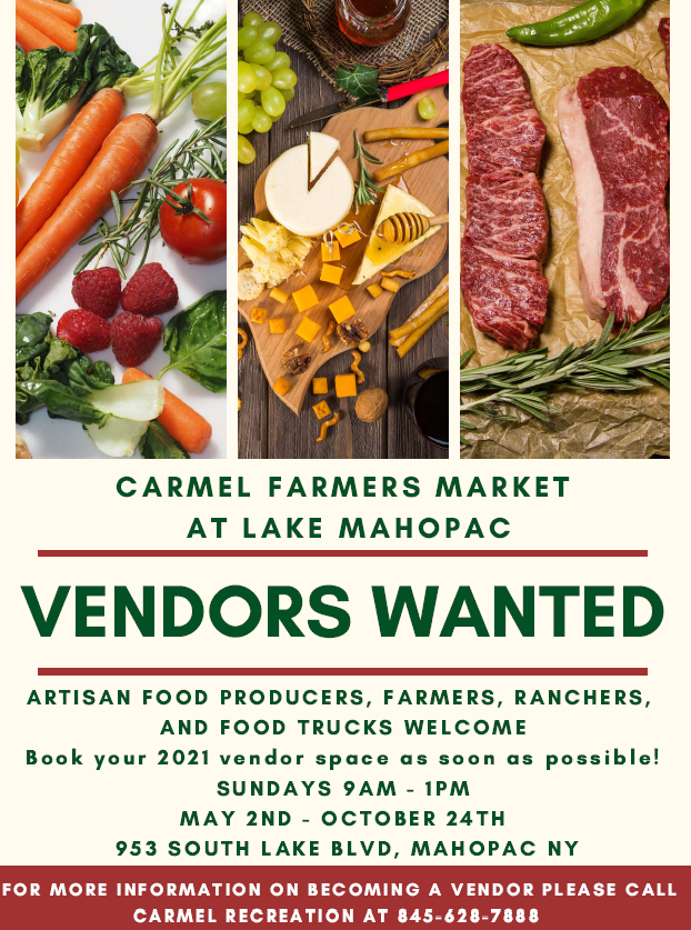 2021 Vendors Wanted