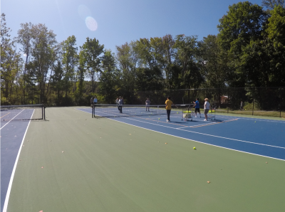 New Tennis Courts at Sycamore Park