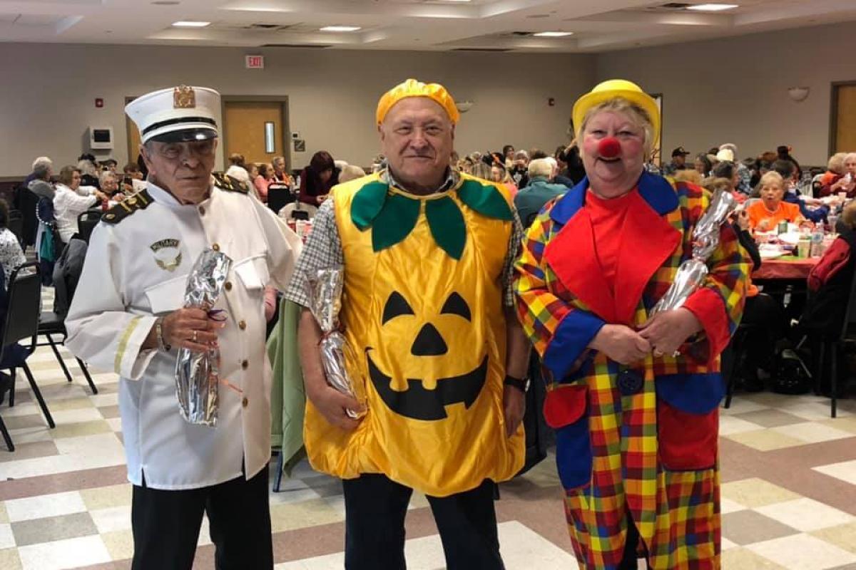 Seniors Halloween 2019