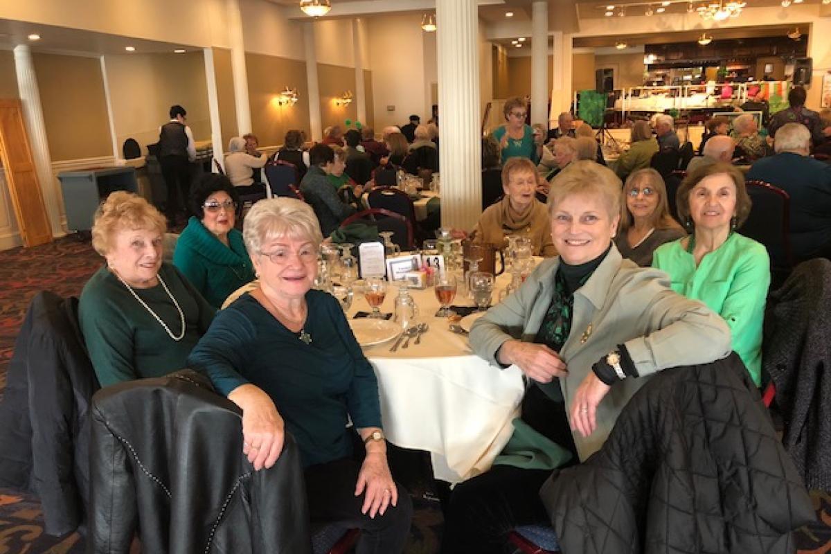 Senior Citizen Trip to Hawley, PA - St. Patrick's Celebration-2018