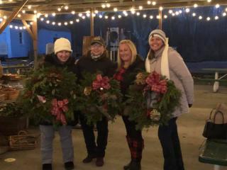 Wreath Decorating 2020